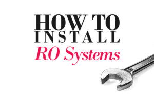 How To Install A Reverse Osmosis System Installation Diagram