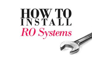 RO installation