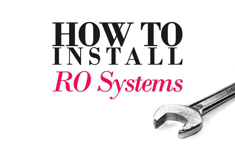 reverse osmosis installation: how to hook up an ro water filter system  (incl  diagram)