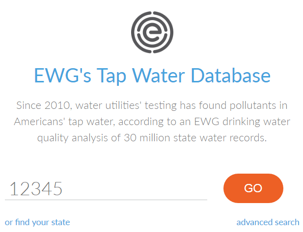 EWG's Tap Water Database