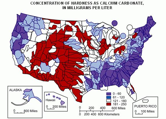 Hardness Map USA