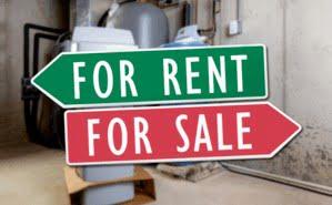 softener rent vs sale