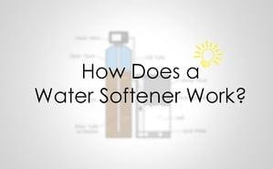 water softener work