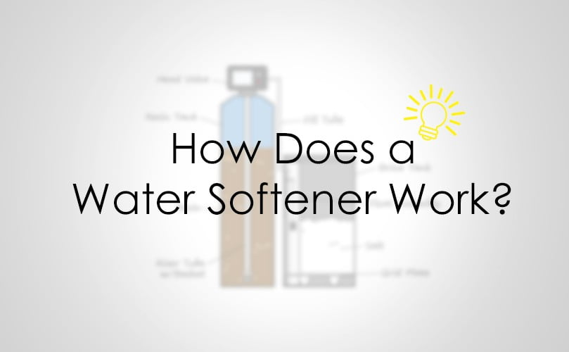 water softener work