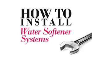 Softener installation