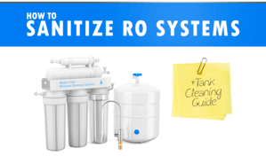sanitize RO systems