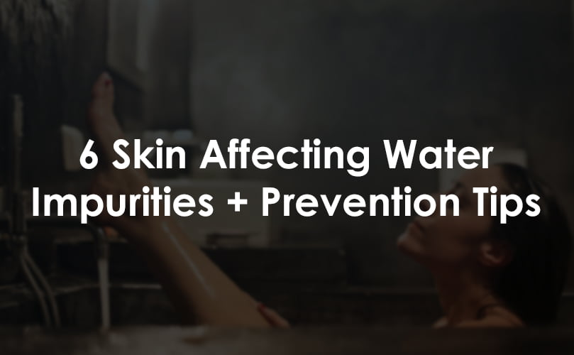 water impurities affecting skin thumb