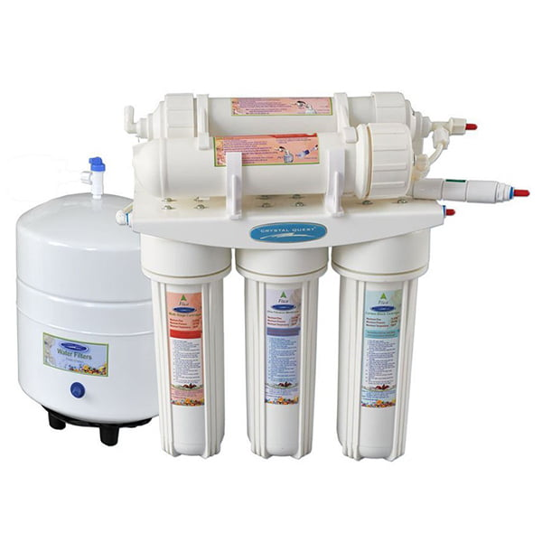 Crystal Quest 1000C Under Sink RO System for Well Water