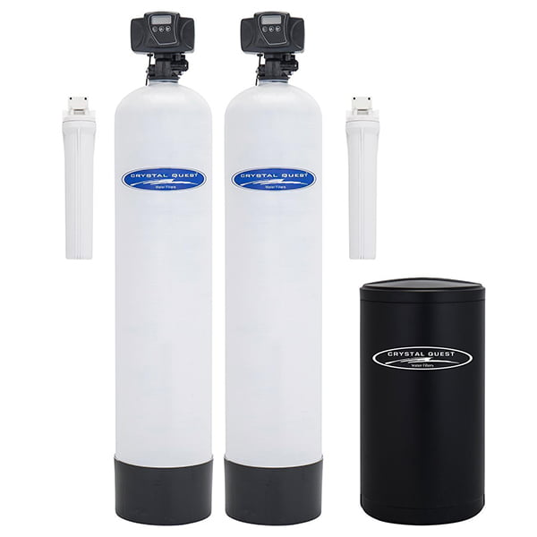 Crystal Quest SMART whole home water filter w/ softener pairing
