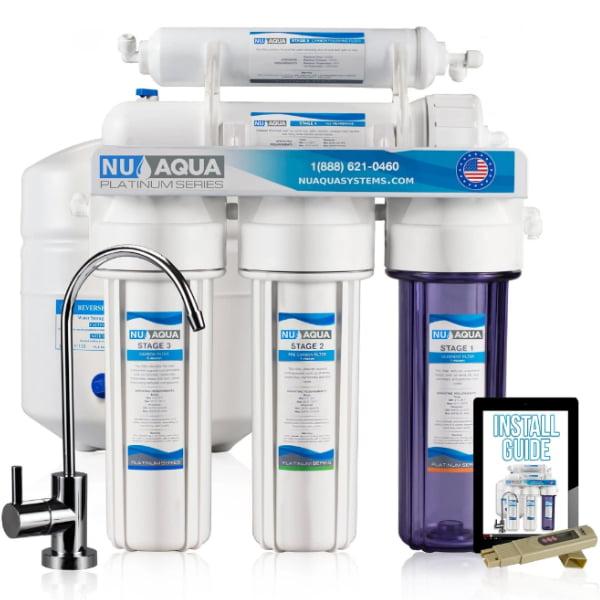 NU Aqua 5 Stage Reverse Osmosis System 100 GPD
