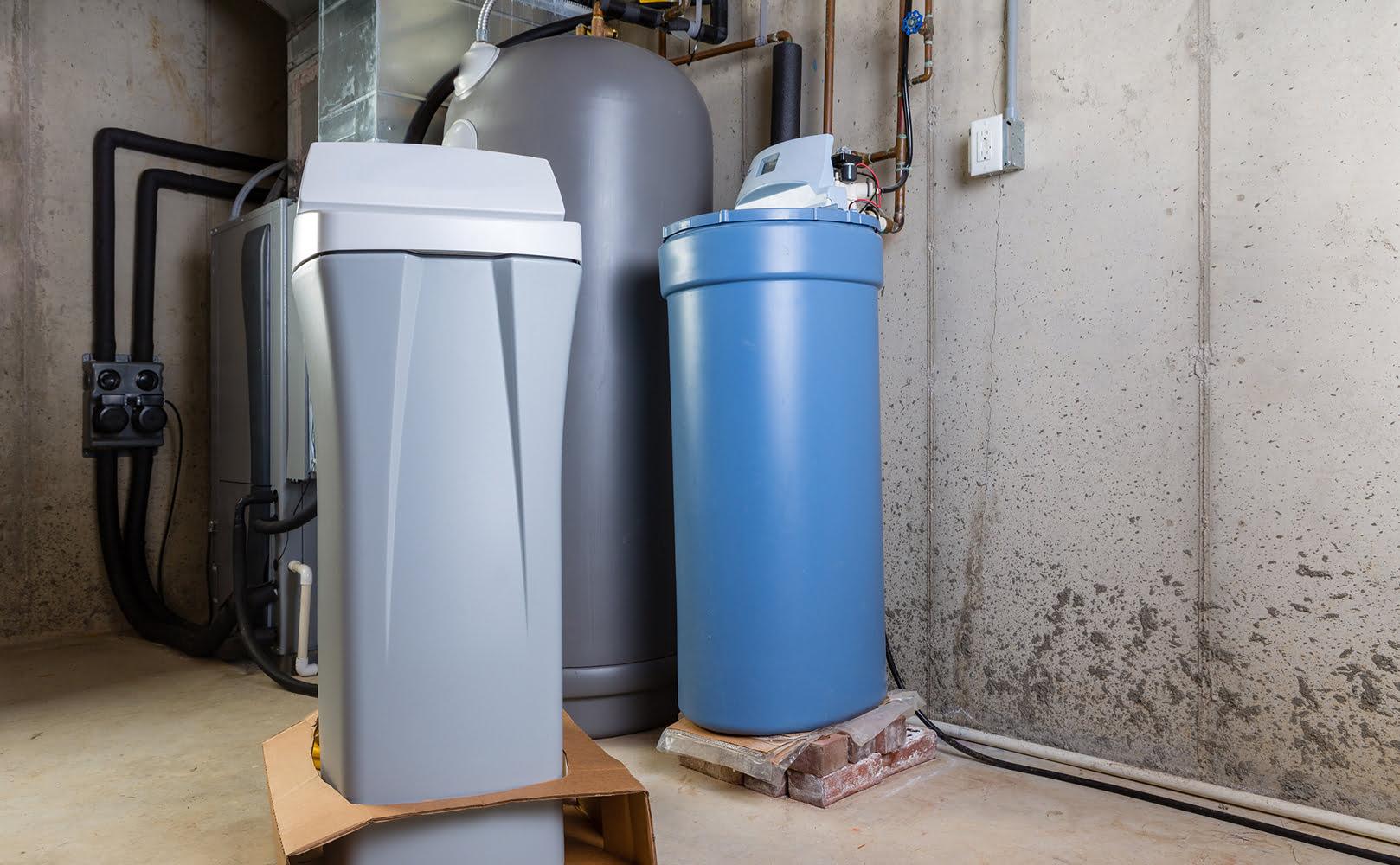 salt-based water softener