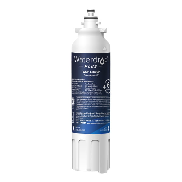 Waterdrop WDP-LT800P Off-Brand Refrigerator Water Filter