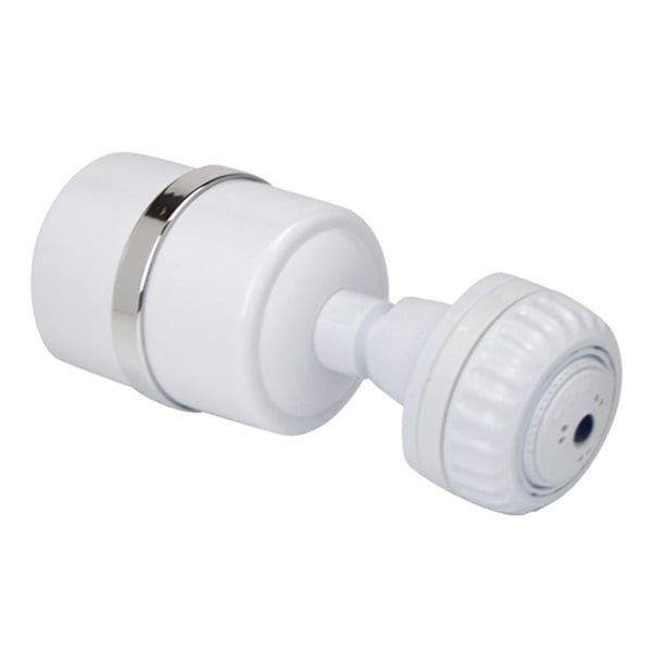 Crystal Quest Luxury Shower Power Filter with Head